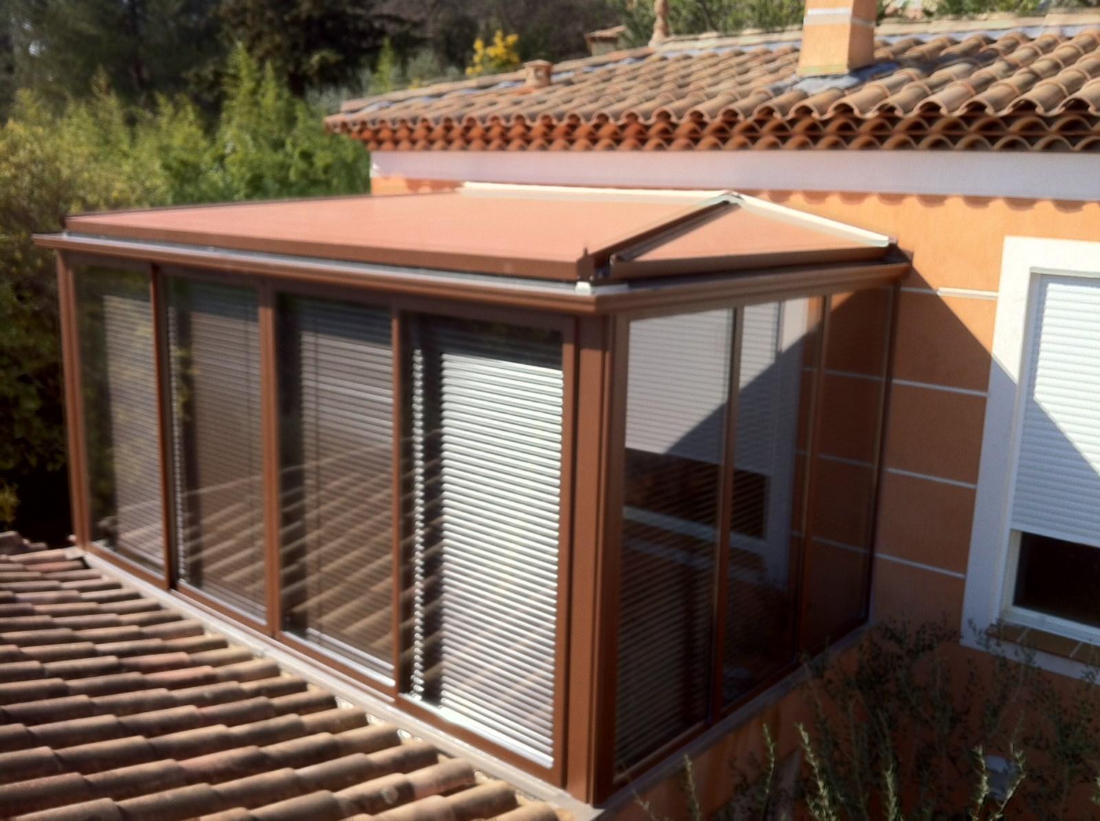 Fermeture d'une terrasse par une Véranda à Rocbaron ...
